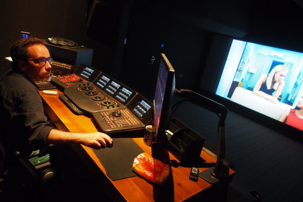 1220電影調色室的設備配置達至國際荷里活電影級的專業水平(相片由受訪者提供)