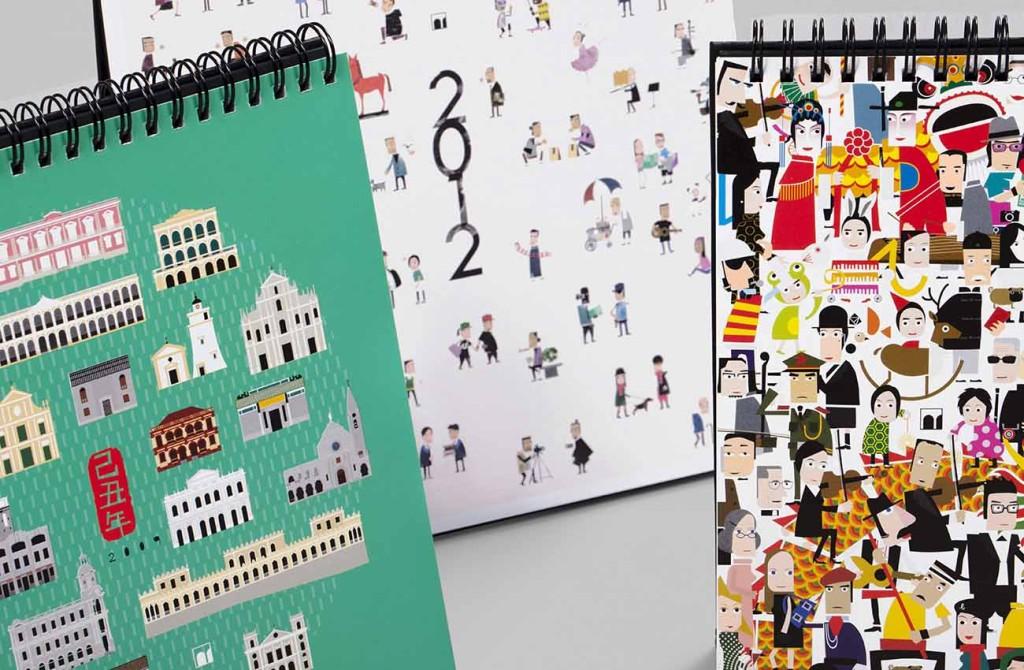 文化局推出的枱曆令人印象深刻(相片由受訪者提供)