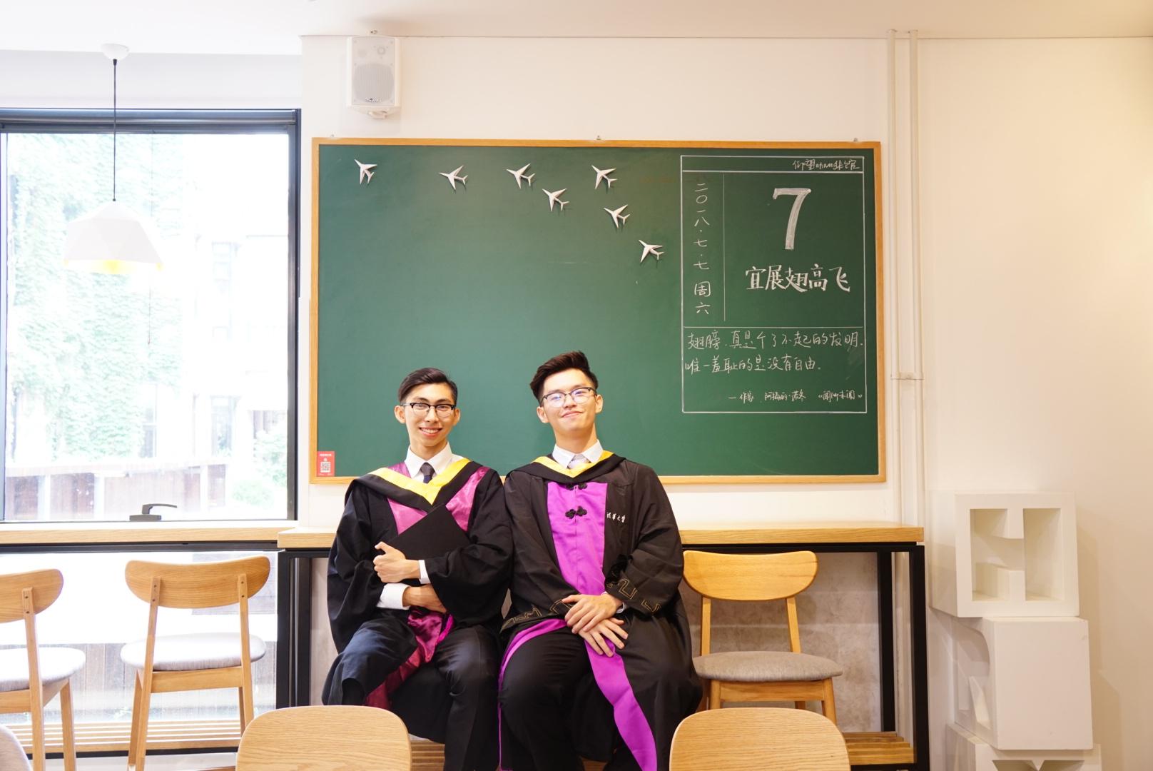 在清華大學的仰望咖啡室 (相片由受訪者提供)