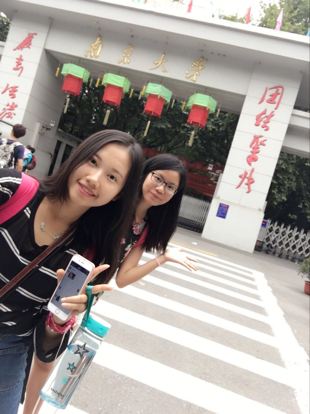 與內地同學一起去南京探索(相片由受訪者提供)