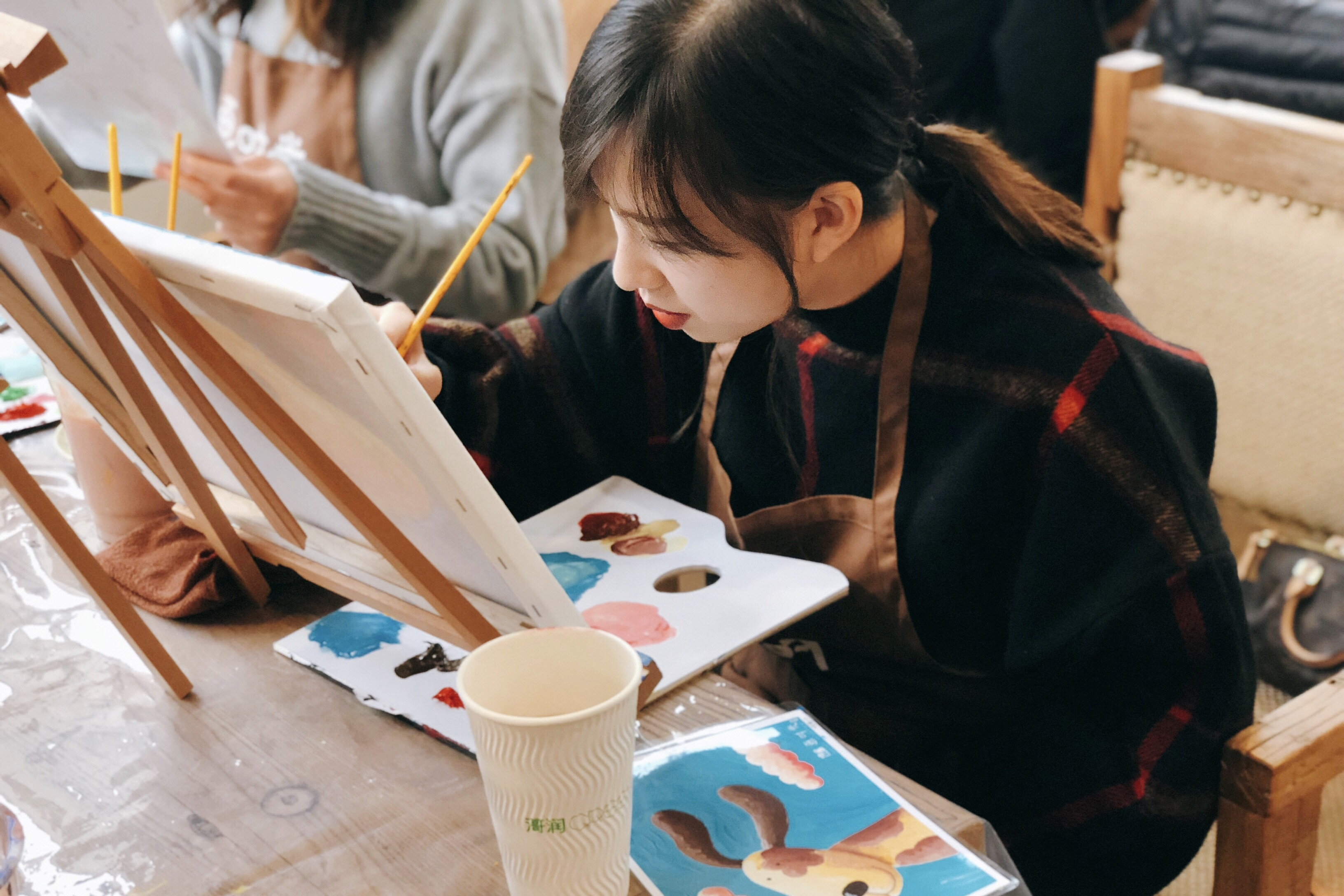 002_繪畫中的趙芷晴