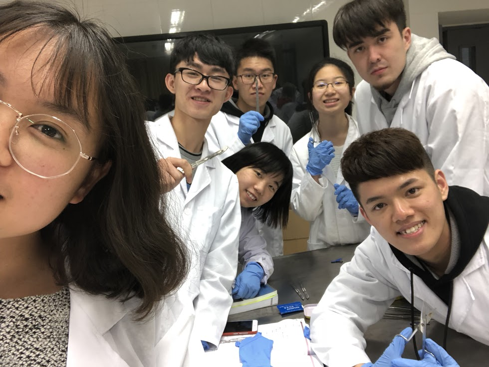 南京大學生活照2(相片由受訪者提供)