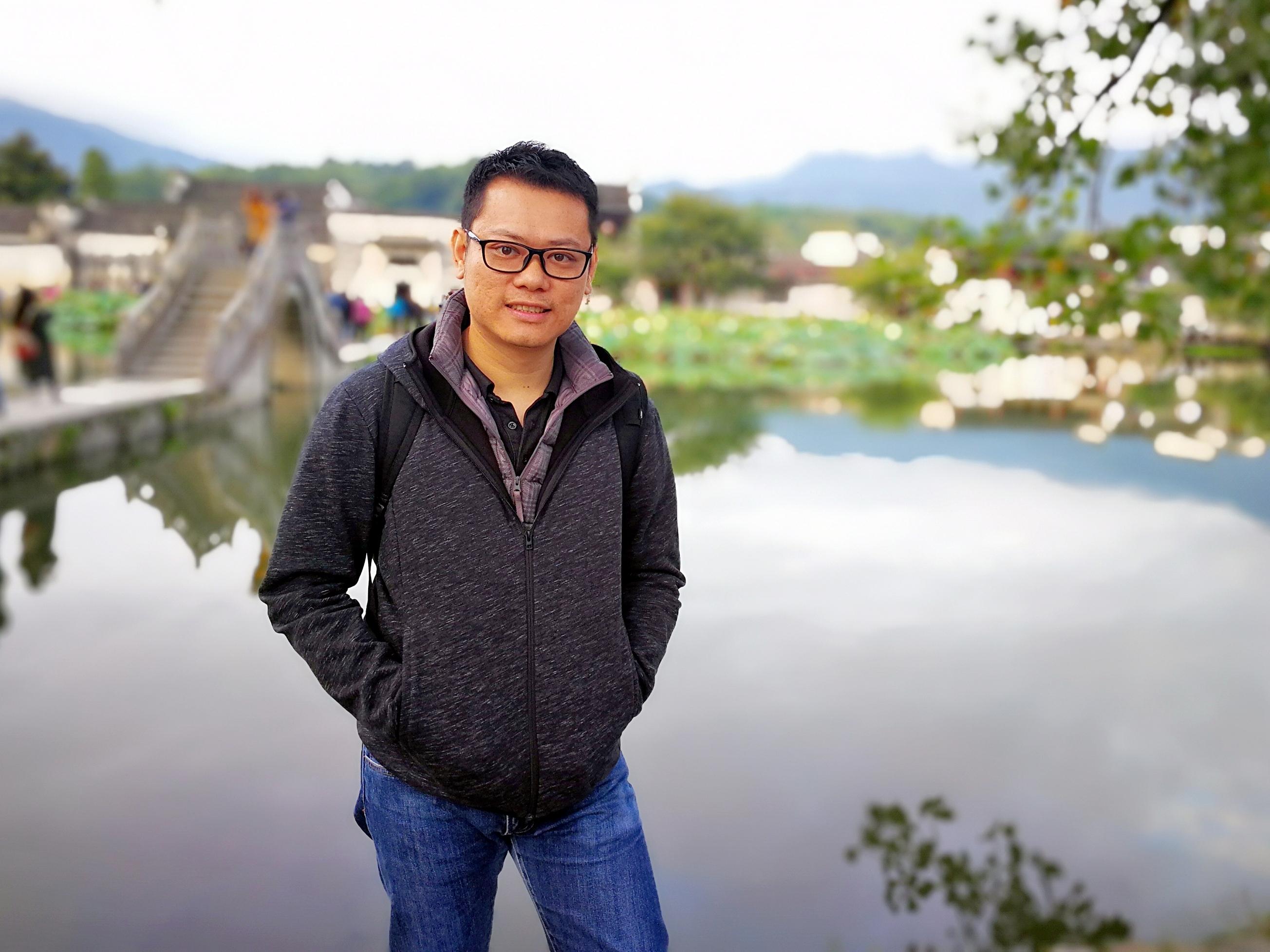 A06-2017年馮家健於安徽黟縣宏村考察