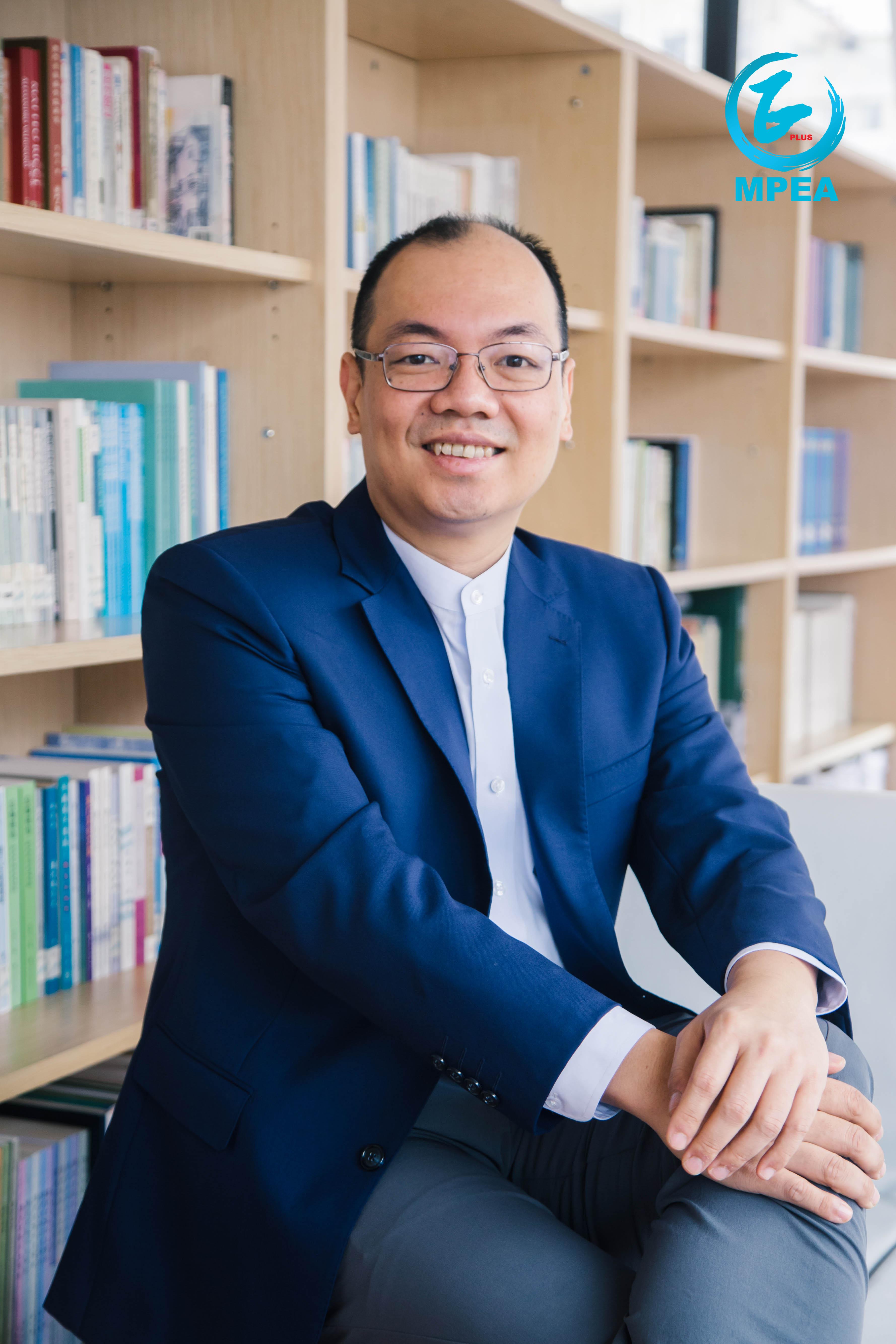 陳志峰熱心參與教育研究和人才培育的工作