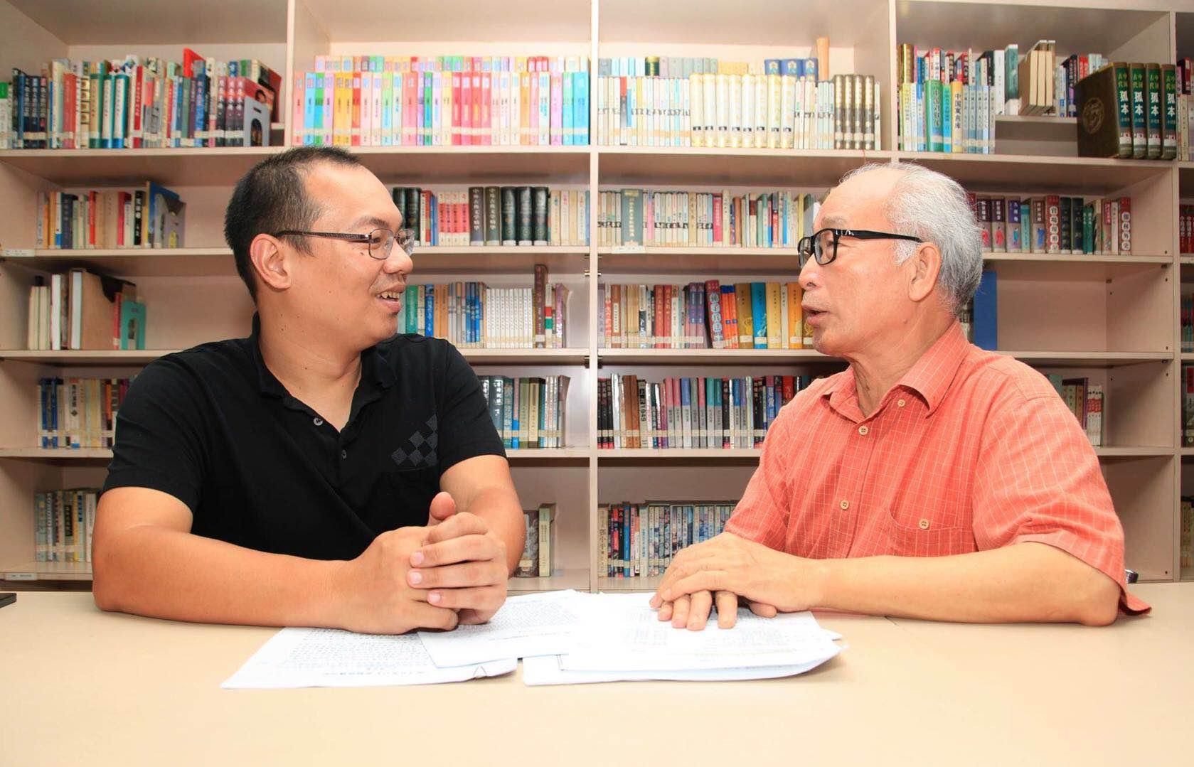 陳志峰表示,鄧景濱教授是自己的啟蒙恩師,由於受到他的影響,自己才會走上教壇之路。(圖片由受訪者提供)