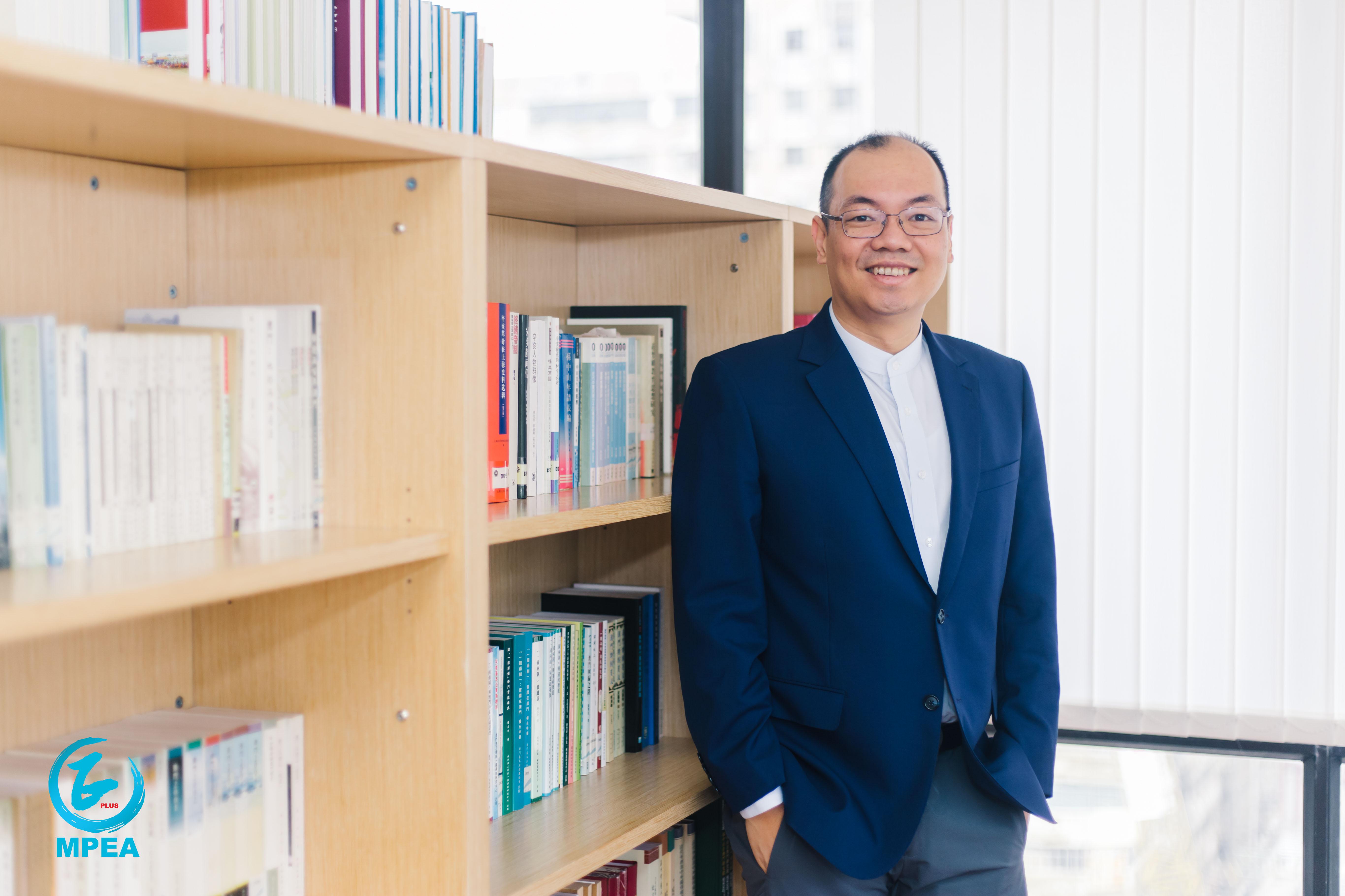 """陳志峰指出,現階段澳門的教育正向着""""高質量,高公平""""此一目標前進。"""