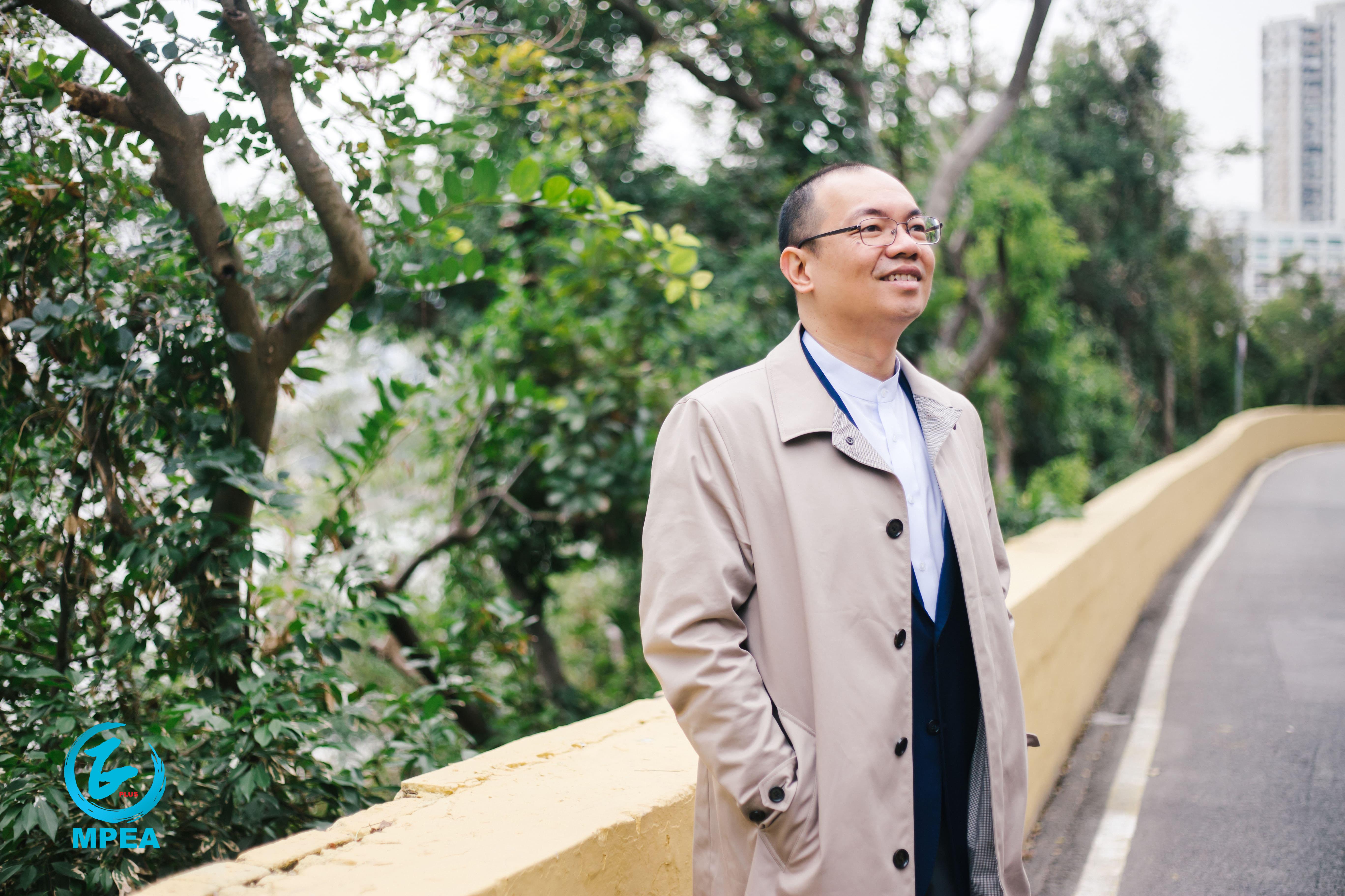 陳志峰希望自己能作為建設者的角色,令這片成長的土地變得更好。