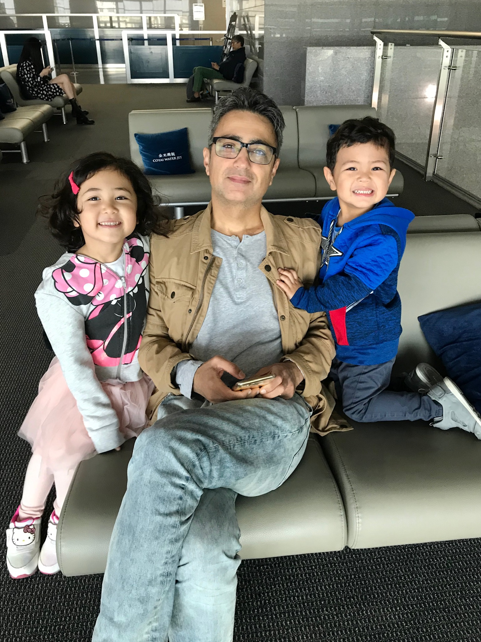 Alidad with Layla and Kayvon Tash Jan 2019